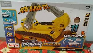 Maisto Assembly Line Power Builds - Backhoe Excavator