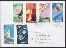 VR China Weltraum Space Nr. 2046-2051 auf Brief
