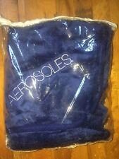 New Aerosoles Blue Plush Blanket