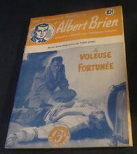 1940s ADVENTURES POLICIER ALBERT BRIEN DETECTIVE SEX MURDER FRENCH  PULP #541
