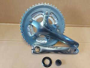 Shimano Tiagra 4603 10 speed 30T 39T 50T 9 x 3 Triple Chainset No BB 172.5mm