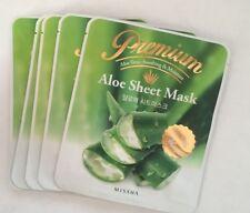 Premium Aloe Sheet Mask, Lot Of 5, By Missha