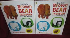 Eric Carle ~ Brown Bear Treasury. HbDj 4 Stories Bill Martin Jr    HERE in MELB!