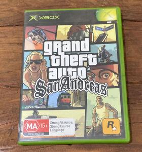 Grand Theft Auto San Andreas - Microsoft Xbox Original - Complete