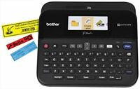 Brother P-touch Label Maker, PC-Connectable Labeler, PTD600, Color Display,