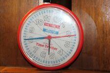 Vintage Bradley Time -Teacher Quartz Clock Works Educational Aid