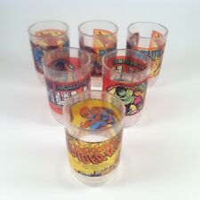 Vintage Marvel Gumball Mini Sticker Cups 1978 Gumball Machine Price Lot