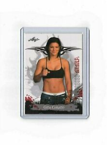 GINA CARANO 2010 Leaf MMA UFC CARA DUNE RC ROOKIE CARD Star Wars MANDALORIAN mt