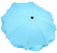 Universal Baby Parasol Waterproof Fit Maclaren Techno Xt pram/stroller Sky-blue