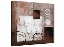 Brown White Painting Bathroom Canvas Accessories - Abstract 1s422s - 49cm