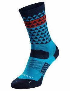 Vaude Bike Socken Bikesocken Bike Socks Mid in blau Gr:  42 - 44