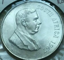Low Mintage Proof South Africa Bin #B FREE SHIP 1967 SOUTH AFRICA 10 CENTS