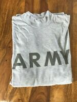 US ARMY PTU Physical Fitness Uniform - Long Sleeve - Langarm - grey