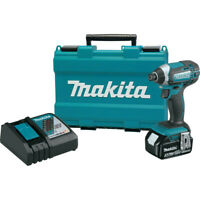 Makita 18V LXT 3.0 Ah Li-Ion 1/4 in. Hex Impact Driver Kit XDT111-R Recon