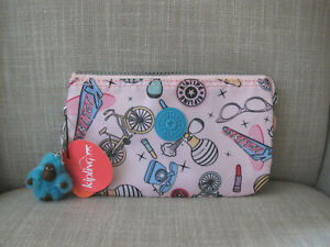 Kipling Pink Makeup Accessory Pouch
