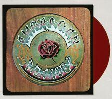 Grateful Dead American Beauty Lp Album Burgundy Rose colored Red Vinyl Ships Now
