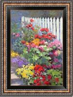 "Hand painted Oil painting original Art Landscape Flower on canvas 24""x36"""