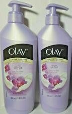 2 New Olay 24-Hour Moisture Luscious Orchid Moisturizing Body Lotion 11.8 fl oz