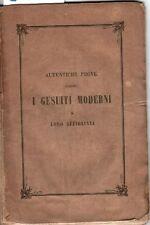 Autentiche prove contro i gesuiti moderni e loro affiliati