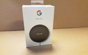 Google Nest Mini ( 2nd Gen ) Smart Speaker - Charcoal NEW SEALED