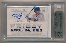 2015 National Treasures * KRIS BRYANT Game Used Patch Auto #/10 BGS 9.5 * POP 1