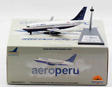 1:200 INF200 AeroPerú B737-200 OB-1711 with stand
