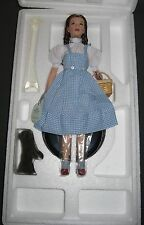 DOROTHY ~ Wizard Of Oz Mattel Timeless Treasures Collection Porcelain Doll