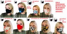 Mundschutz Motiv Bild Maske Nano Stoff wiederverwendbar Alltags Waschbar