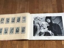 Album Figurine FILMO 1934 COMPLETE sticker star movie card pelicula Cinema film