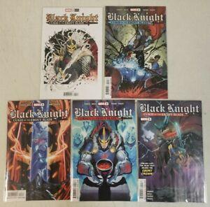 Black Knight Curse of the Ebony Blade 1-5 (1 2 3 4 5) Complete Series Set 2021 B