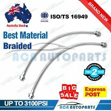 "For Nissan Patrol Extended Braided Brake Hose Lines GQ Y60 GU Y61 2""-6"" Lifts"