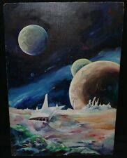 Science Fiction Painting - Signed art by Geraud Staton