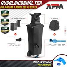 Ausgleichsbehälter Kühlmittel Für BMW 3er E46 X3 E83 X5 E53 Mit Deckel & Sensor