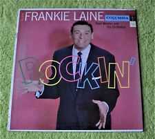 "Frankie Laine & Paul Weston Orchestra / Rockin' / Columbia Records 12""LP"