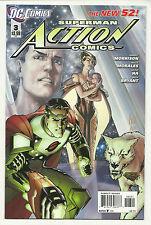 Action Comics #3 Variant Near Mint New 52 Superman