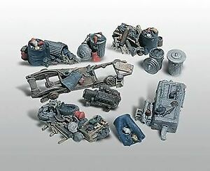 WOODLAND SCENICS HO SCALE 1/87 KIT  ASSORTED JUNK PILES | 205