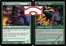 1 FOIL Mayor of Avabruck // Howlpack Alpha - Green Innistrad Mtg Magic Rare 1x x