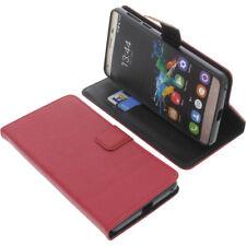 Funda para Oukitel K6000 Pro Book Style Protección teléfono móvil LIBRO ROJO
