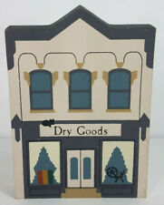 Vintage The Cat's Meow Dry Goods feneral store Series Iii 1990 wood display