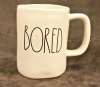 Rae Dunn by Magenta Artisan Collection Coffee Mug BORED New Large