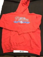 Philadelphia Phillies Red Lee Hoodie Adult Size XL #P-42