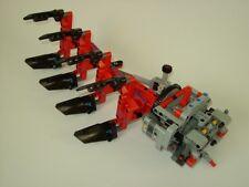 RBi Bauanleitung 42054 Drehpflug Eigenbau Claas Xerion MOC aus LEGO® Steine