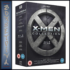 X-MEN COLLECTION - ALL 8 FILMS  **BRAND NEW BLURAY BOXSET**