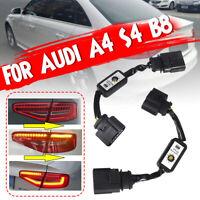 2pcs SeDynamic Turn Signal Indicator LED Taillight Module For Audi A4 S4