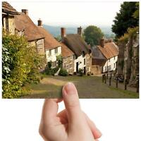 "Gold Hill Shaftsbury Dorset Small Photograph 6"" x 4"" Art Print Photo Gift #16121"