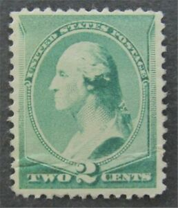 nystamps US Stamp # 213 Mint OG H $45   L30x168