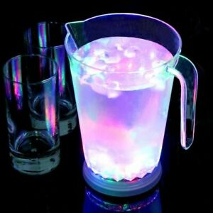 Cocktail Jug LED Party Pitcher Lights Drinks Fun Colour Changing Novelty Gift