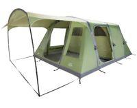 Vango Solaris 600 6 Person Airbeam Inflatable Family Tent & Footprint