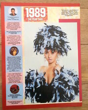 WENDY JAMES 'frills' magazine PHOTO / Poster/Clipping 12x10 inches