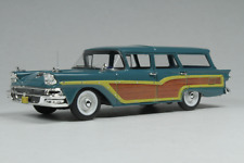 "Ford Country Squire ""Gulfstream Blue"" 1958 (Goldvarg 1:43 / GC-014A)"